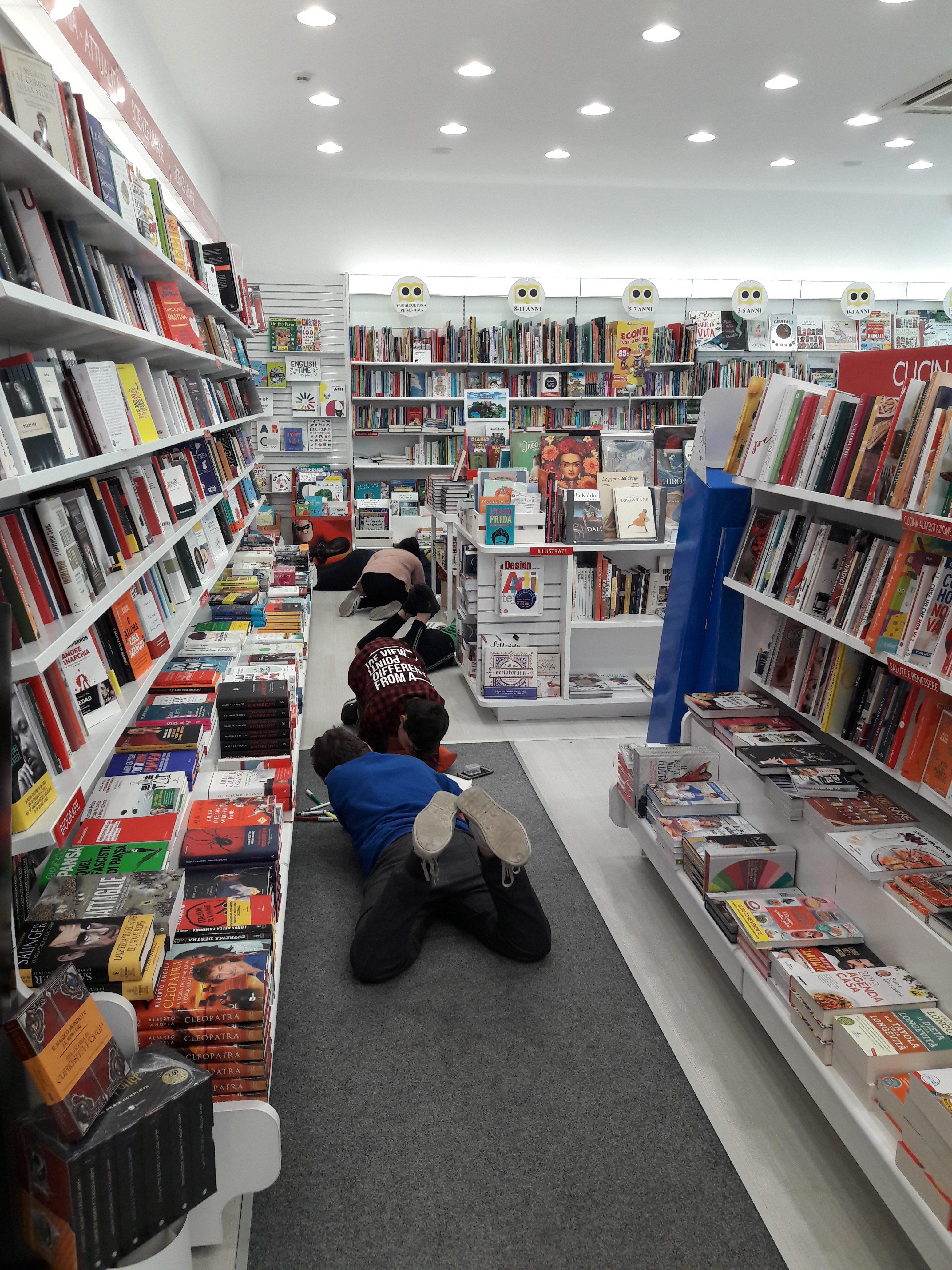 Alunni in libreria